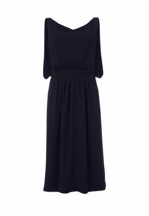 Вечернее платье Cyrille Gassiline CY911EWDQ828. Цвет: синий