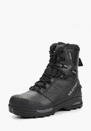 Ботинки трекинговые Salomon TOUNDRA PRO CSWP. Цвет: черный