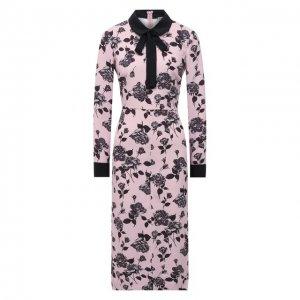 Платье REDVALENTINO. Цвет: розовый