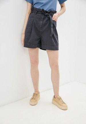 Шорты джинсовые Sisley. Цвет: серый