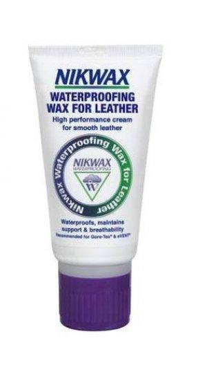 Пропитка для обуви Waterproofing Wax for Leather Nikwax. Цвет: черный