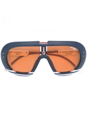 Shield sunglasses Carrera. Цвет: синий