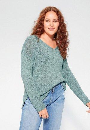 Пуловер Violeta by Mango - UMAS. Цвет: голубой