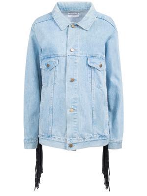 Джинсовая куртка ONE X. Цвет: разноцветный