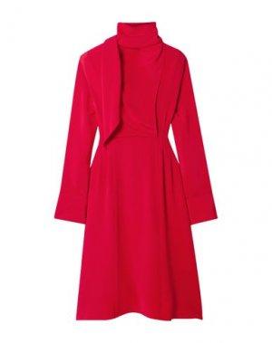 Платье миди JASON WU. Цвет: красный