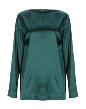 Блузка ANNECLAIRE. Цвет: темно-зеленый