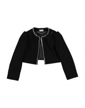 Пиджак ELISABETTA FRANCHI. Цвет: черный