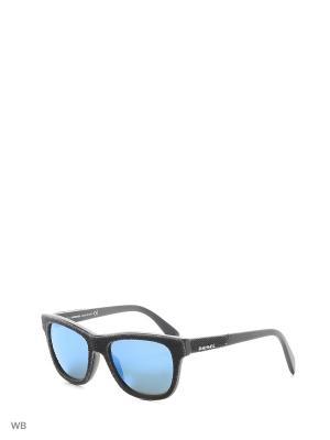Солнцезащитные очки DL 0111 01X Diesel. Цвет: черный, серый
