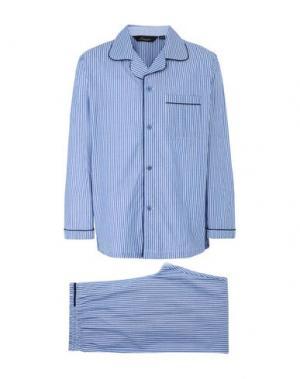 Пижама AMBASSADOR. Цвет: небесно-голубой