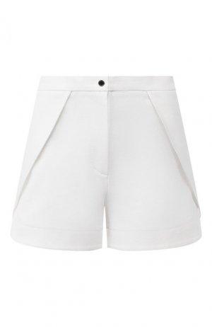 Хлопковые шорты Chapurin. Цвет: белый