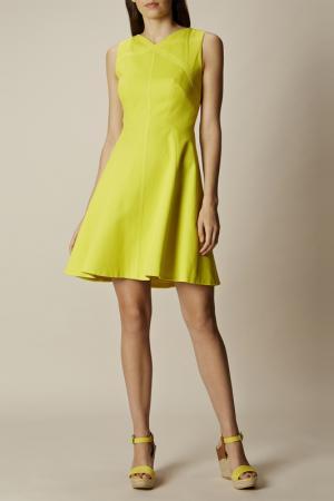 Платье Karen Millen. Цвет: lime