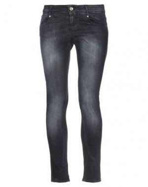 Джинсовые брюки EAN 13. Цвет: черный