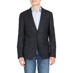 Пиджак TT0TT06288 темно-синий TOMMY HILFIGER