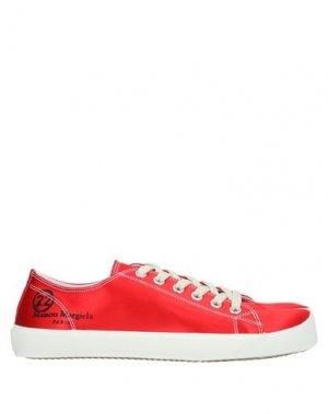 Низкие кеды и кроссовки MAISON MARGIELA. Цвет: красный