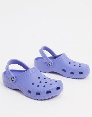 Фиолетовые классические кроксы -Фиолетовый Crocs