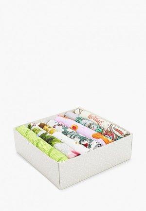 Набор полотенец кухонных Tete-a-Tete. Цвет: разноцветный