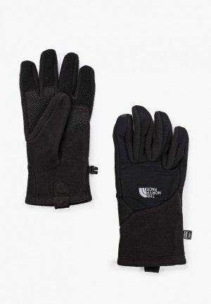 Перчатки The North Face Denali Etip. Цвет: черный