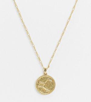 Ожерелье с покрытием 14-каратным золотом и созвездием на подвеске inspired-Золотой Reclaimed Vintage