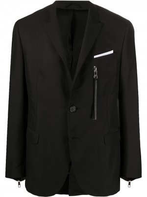 Пиджак с молниями Neil Barrett. Цвет: черный