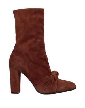 Полусапоги и высокие ботинки JEAN-MICHEL CAZABAT. Цвет: желто-коричневый