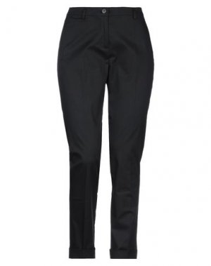 Повседневные брюки CARACTÈRE. Цвет: черный