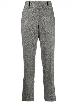 Классические брюки строгого кроя Ermanno Scervino. Цвет: черный
