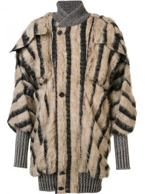 Куртка-бомбер Roberta Andreas Kronthaler For Vivienne Westwood. Цвет: коричневый
