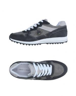 Кеды и кроссовки ARMATA DI MARE. Цвет: серый