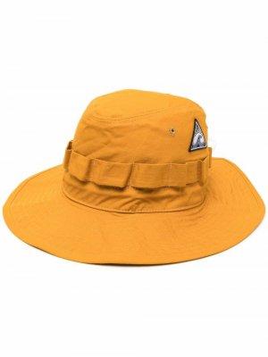 Шляпа с нашивкой Jil Sander. Цвет: желтый