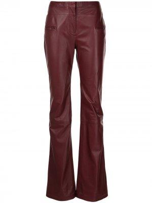 Широкие брюки Serge Altuzarra. Цвет: фиолетовый