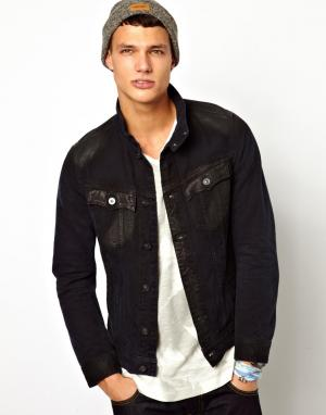Джинсовая куртка узкого кроя G Star Tailor Stand 3d G-Star. Цвет: светлый кобальтово-синий