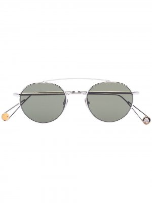 Солнцезащитные очки-авиаторы Bastille Ahlem. Цвет: золотистый