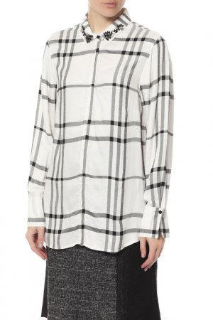 Блузка Gerry Weber. Цвет: off-white, black