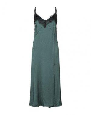 Платье длиной 3/4 HANITA. Цвет: темно-зеленый
