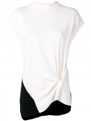 Толстовка без рукавов Nina Ricci. Цвет: белый