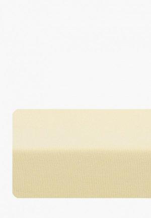 Простыня детская Dream Time 140х200 см. Цвет: желтый