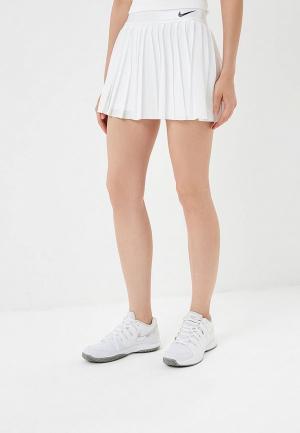 Юбка-шорты Nike NikeCourt Victory Womens Tennis Skirt. Цвет: белый