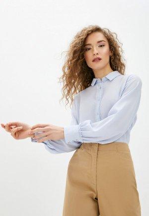 Блуза Concept Club. Цвет: голубой
