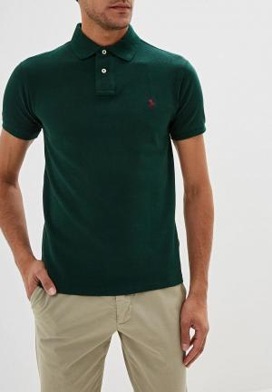 Поло Polo Ralph Lauren SLIM FIT. Цвет: зеленый
