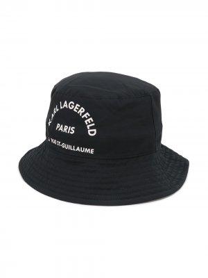 Панама Rsg Karl Lagerfeld Kids. Цвет: черный