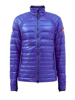 Горнолыжная куртка из легкого нейлона с эластичными вставками CANADA GOOSE. Цвет: голубой