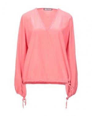 Блузка FISICO. Цвет: лососево-розовый