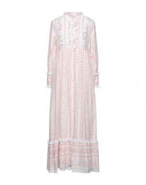 Длинное платье ANTIK BATIK. Цвет: слоновая кость