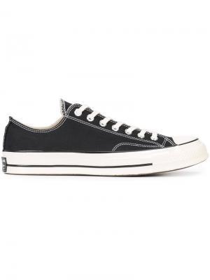 Кеды на шнуровке Converse. Цвет: черный
