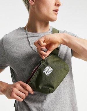Темно-зеленая сумка-кошелек на пояс Fourteen-Зеленый цвет Herschel Supply Co