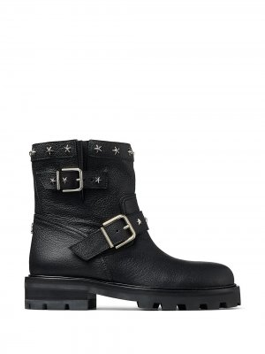 Star-stud Youth II boots Jimmy Choo. Цвет: черный
