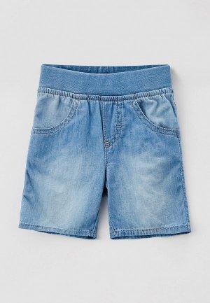 Шорты джинсовые United Colors of Benetton. Цвет: голубой
