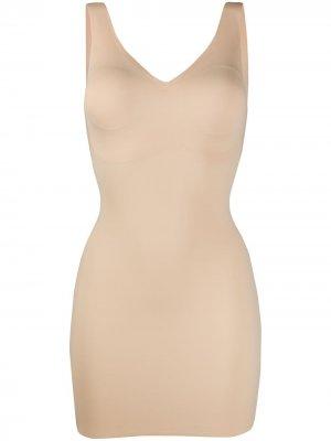 Корректирующее платье Beyond Naked Wacoal. Цвет: нейтральные цвета