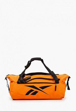 Сумка спортивная Reebok TECH STYLE CONV GRIP. Цвет: оранжевый