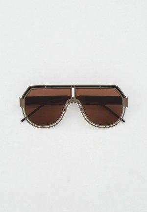 Очки солнцезащитные Dolce&Gabbana DG2231 135273. Цвет: серый